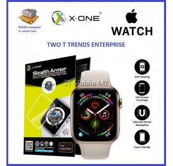 Apple Watch 38mm 40mm 42mm 44mm X-One Stealth Armor Screen Protector Original
