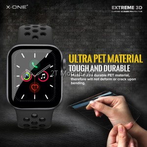 Apple Watch 38mm 40mm 42mm 44mm X-One Stealth Armor / 3D Anti Shock Screen Protector Original