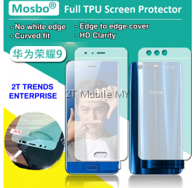 Huawei Honor 9 Front Back Full Coverage Screen Protector 3D Film