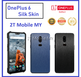 OnePlus 6 1+6 3D Back Skin Colour Silk Style Sticker Screen Protector
