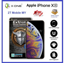 Apple iPhone XS Max / XS / XR X-One Full Matte Screen Protector Anti-Fingerprint