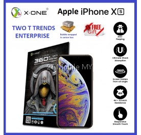 Apple iPhone XS Max / XS / XR X-One Anti-Peeping Privacy Matte Screen Protector
