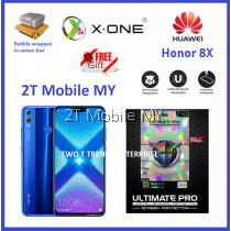 Huawei Honor 8X X-One Ultimate Pro Shock Screen Protector Upgrade