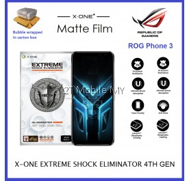 Asus ROG Phone 3 / ROG Phone 2 ROG Phone Max Pro X-One 7H 4th Gen Extreme Shock Eliminator Ultimate Pro Screen Protector