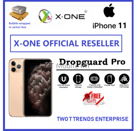 Apple iPhone 11 / iPhone 11 Pro / iPhone 11 Pro Max / iPhone XS X-One DropGuard Pro Clear Bumper Case Cover