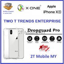 Apple iPhone XS Max / X / XS X-One DropGuard Pro Clear Bumper Case