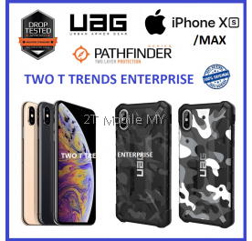 Apple iPhone XS Max / XS / XR / X UAG Pathfinder Camo Case Bumper Limited Ed.