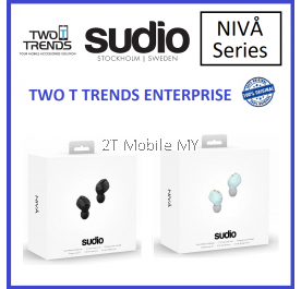 Sudio Niva True Wireless Earbuds Earphone with Charging Case