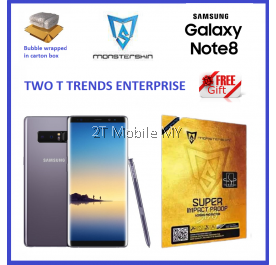 Samsung Note 8 / S9 Plus / S8 Plus Monsterskin S Series Matte Screen Protector