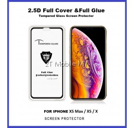 Apple iPhone XS Max / XS / X Full Glue Coverage Tempered Glass Screen Protector