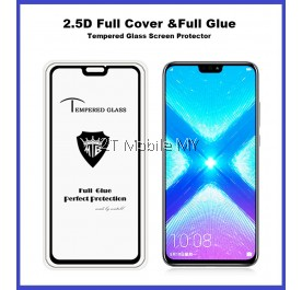 Huawei Honor 8X Full Glue Coverage Tempered Glass Screen Protector