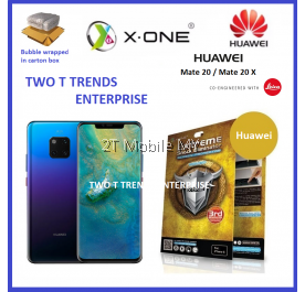Huawei Mate 20 X-One Extreme Shock Eliminator Screen Protector 3rd Gen