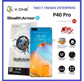 Huawei P40 Pro / Mate 30 Pro / P30 Pro / Mate 20 Pro X-One Case Friendly Stealth Armor Ver 2 Screen Protector