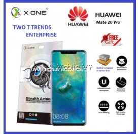 Huawei Mate 20 Pro X-One Case Friendly Stealth Armor Screen Protector