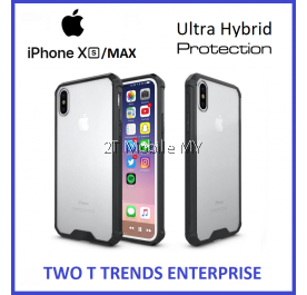 Apple iPhone XS Max / XS / X Air Hybrid TPU Case Slim Bumper Fusion Cover