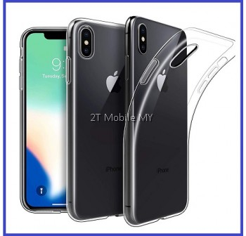 Apple iPhone XS Max / XS / X Soft Transparent Case Slim TPU Cover