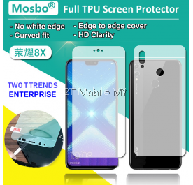 Huawei Honor 9X / Honor 9X Pro / Honor 8X Front Back Full Coverage Screen Protector 3D Film