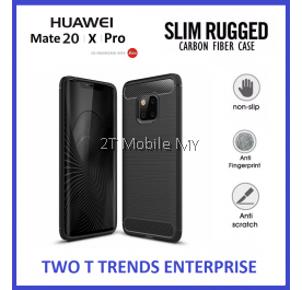 Huawei Mate 20 Pro / Mate 20 Slim Fit Rugged Armor Bumper TPU Case Cover