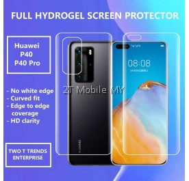 Huawei P40 / P40 Pro / Mate 30 / Mate 30 Pro / Mate 20 / 20 Pro / 20 X Front Back Full Coverage Screen Protector 3D Film