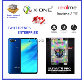 Oppo Realme 2 Pro X-One Ultimate Pro Shock Screen Protector Upgraded