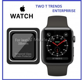Apple Watch 38mm 42mm Full Cover Tempered Glass Screen Protector