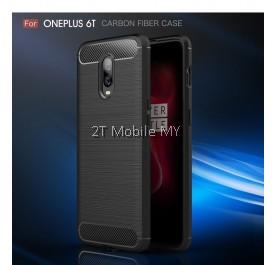 OnePlus 6T 1+6T Slim Fit Rugged Armor Bumper TPU Case Cover Anti-Fingerprint