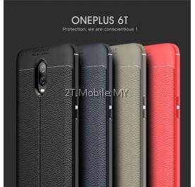OnePlus 6T 1+6T Dermatoglyph Case Matte Anti-Fingerprint Bumper Cover