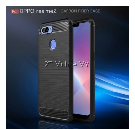Realme 2 Slim Fit Rugged Armor Bumper TPU Case Cover Matte Anti-Fingerprint