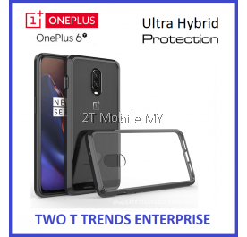 OnePlus 6T 1+6T Air Hybrid TPU Case Slim Solid Bumper Fusion Cover