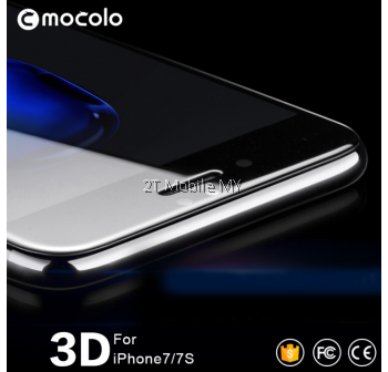 Apple iPhone 7/7 Plus 3D Full Curve Mocolo Tempered Glass Screen Protector