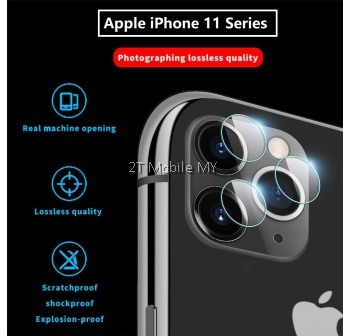 Apple iPhone 11 / iPhone 11 Pro / iPhone 11 Pro Max / XS Max / XS / XR Camera Tempered Glass Soft Protector