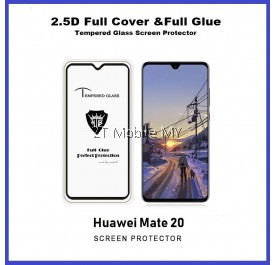 Huawei Mate 20 Full Glue Coverage Tempered Glass Screen Protector