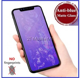 Apple iPhone XS Max / XS / X / XR Full Matte Anti Blue Light Ray Tempered Glass