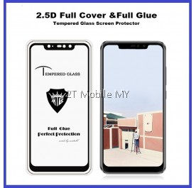 XiaoMi RedMi Note 6 Pro Full Glue Coverage Tempered Glass Screen Protector