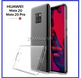 Huawei Mate 20 / Mate 20 Pro Soft Transparent Case Slim TPU Cover