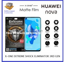 Huawei Nova 5i / Nova 3 / Nova 3i X-One Matte Anti-Fngerprint Screen Protector 3rd. Gen