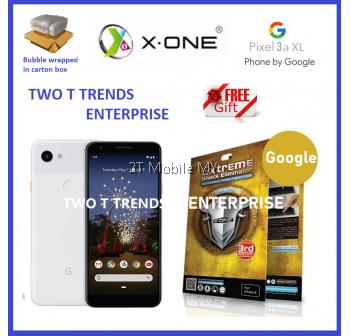 Google Pixel 3A / Pixel 3A XL / Pixel 3 / 3 XL X-One Extreme Shock Eliminator Screen Protector 3rd Gen
