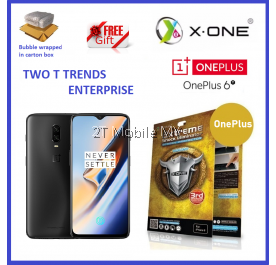OnePlus 6T 1+6T X-One Extreme Shock Eliminator Screen Protector 3rd. Gen