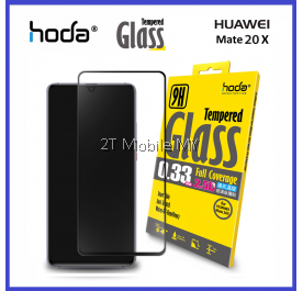 Huawei Mate 20 / Mate 20 X Hoda Full 0.33mm 9H Tempered Glass Screen Protector