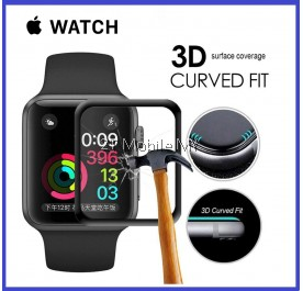 Apple Watch Series 4 40mm 44mm 3D Full Glue Curve Tempered Glass Screen Protector