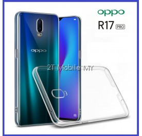 Oppo R17 Pro Soft Transparent Case Slim TPU Cover