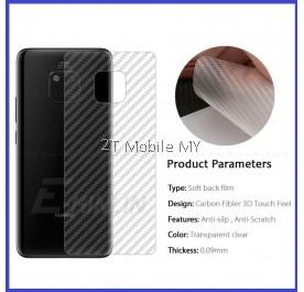Huawei Mate 20 / Mate 20 Pro / Mate 20X Carbon Matte Fiber Film Protector Anti Fingerprint