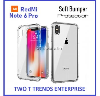 XiaoMi RedMi Note 6 Pro Soft Transparent Antidrop Bumper Case Cover