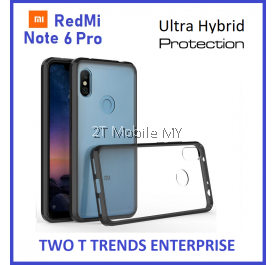 XiaoMi RedMi Note 6 Pro Air Hybrid TPU Case Slim Solid Fusion Cover