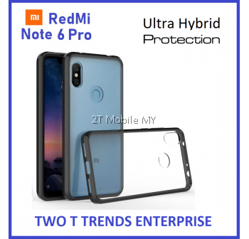 XiaoMi RedMi Note 6 Pro Air Hybrid TPU Case Slim Solid Fusion Cover