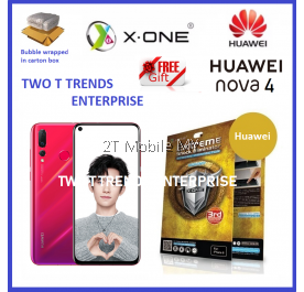 Huawei Nova 4 X-One Extreme Shock Eliminator Screen Protector 3rd Gen.