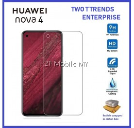Huawei Nova 4 Tempered Glass Screen Protector 2.5D