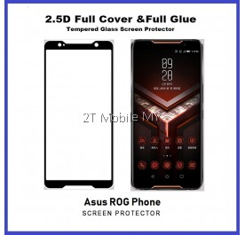 Asus ROG Phone Full Glue Coverage Tempered Glass Screen Protector