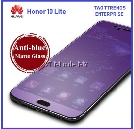 Huawei Honor 10 Lite Full Matte Anti Blue Light Ray Tempered Glass Screen Protector