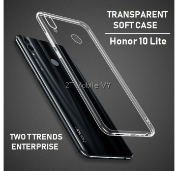 Huawei Honor 10 Lite Soft Transparent Case Slim TPU Cover